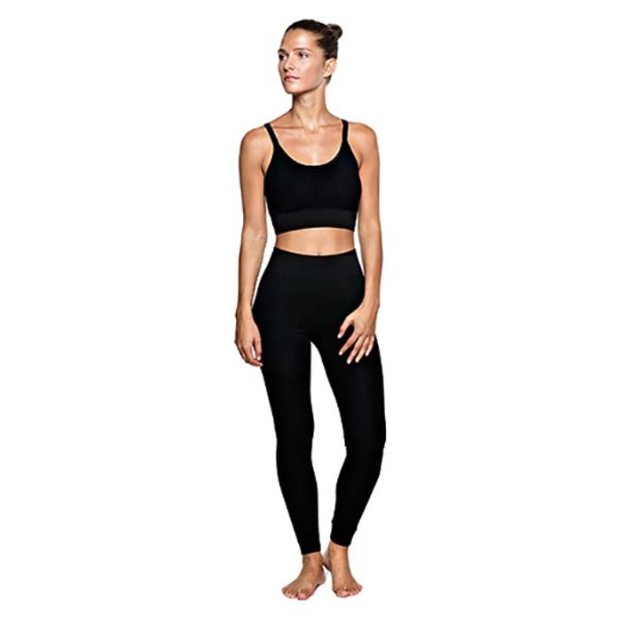 Yoga-BH Mutiple String Black från Run & Relax