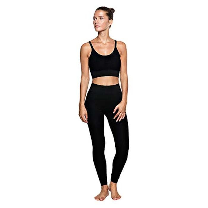 Yoga-BH Mutiple String Black - Run & Relax