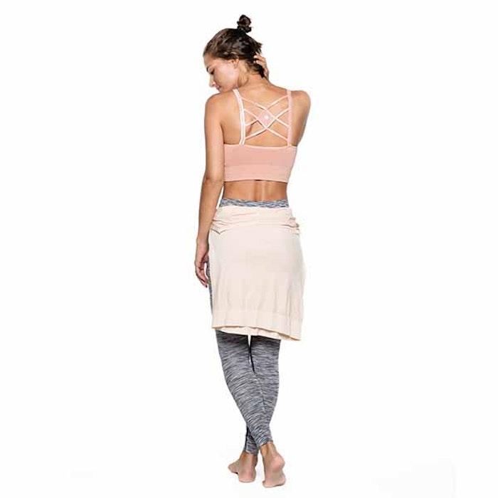 Yoga-BH Mutiple String Muted Clay från Run & Relax