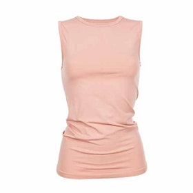 Yogatopp Basic Bamboo Tank Muted Clay från Run & Relax