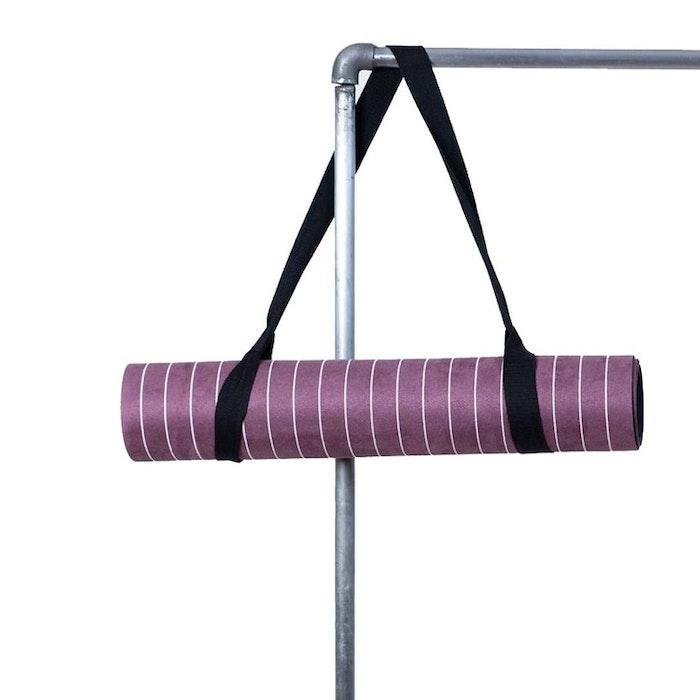 "Yogamatta ""Pinstripe maroon"" - Yogish Collective"