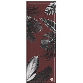 Yogamatta Botanical Burgundy Travel mat från Grounded Factory