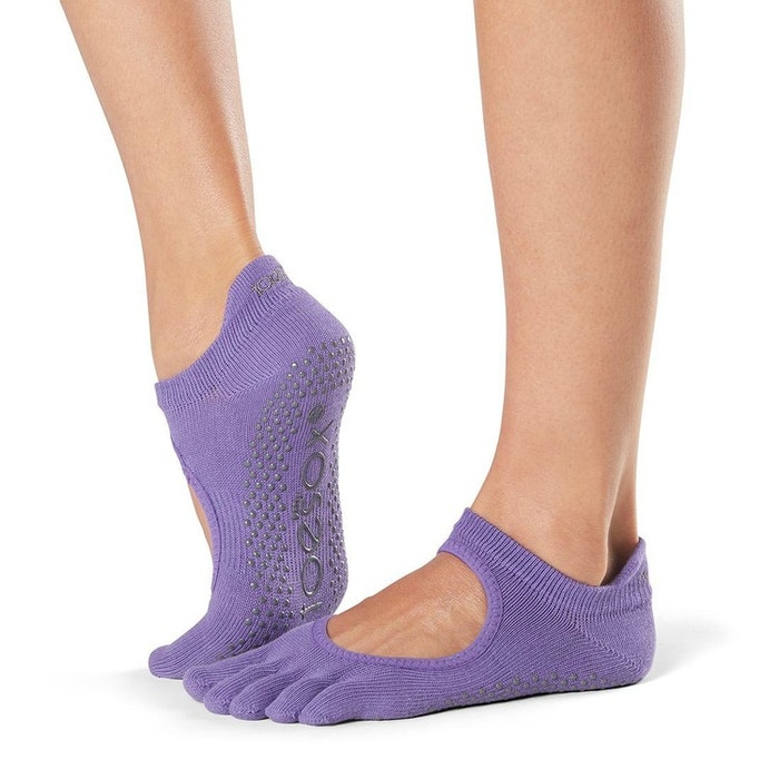 Yogastrumpor Toesox Fulltoe Bellarina grip - Light Purple