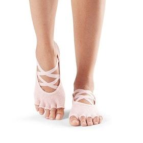 Yogastrumpor Toesox Halftoe Elle - Crystal