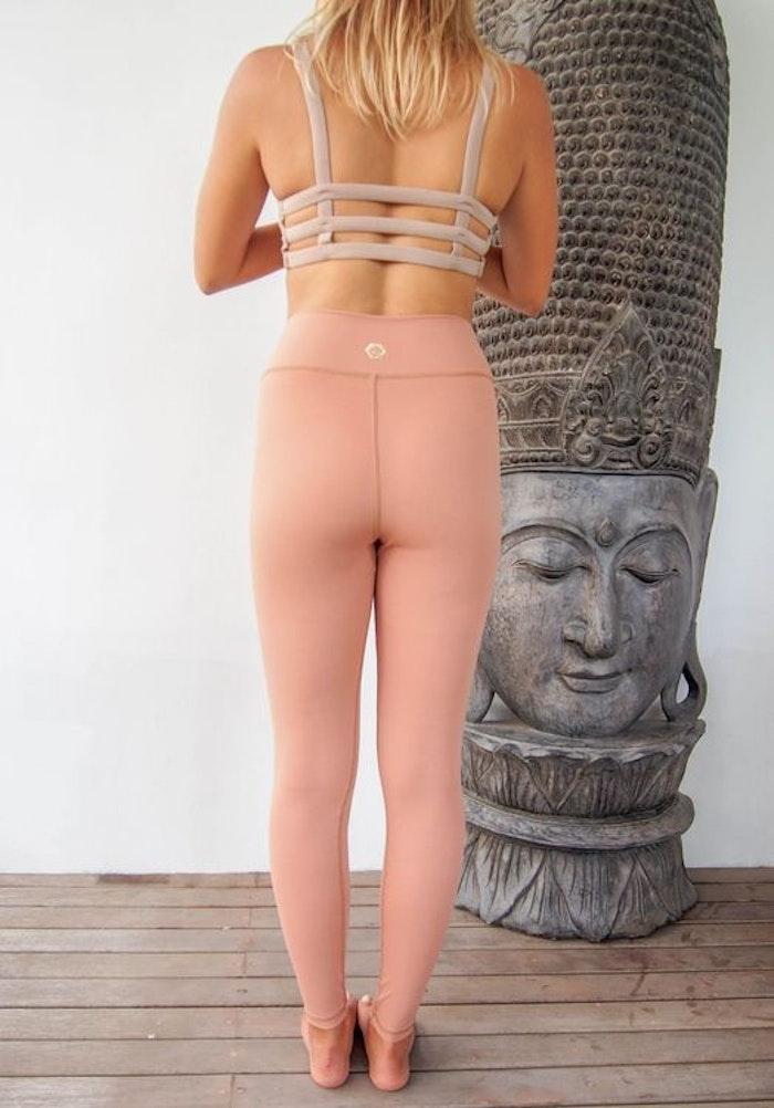 Yogaleggings Prana Legging Honey glow från Indigo Luna