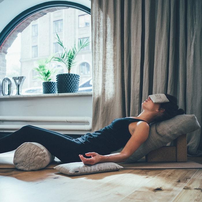 Ögonkudde Linne Natur - Wear my yoga