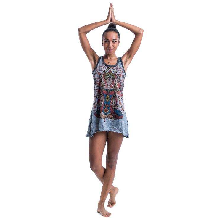 Yogalinne/klänning Infinitee Yoga Stamp från Sure Design