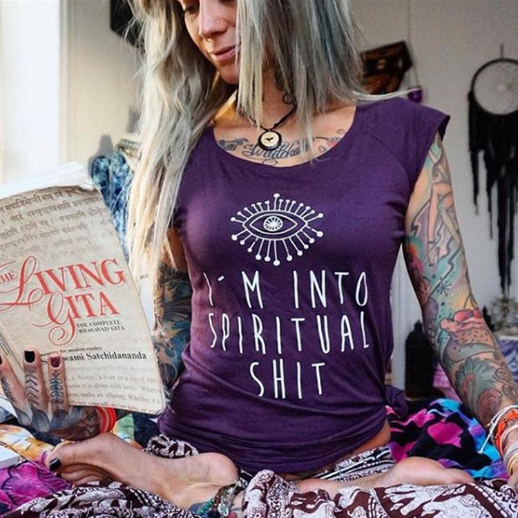 Yogia I´m into spiritual shit