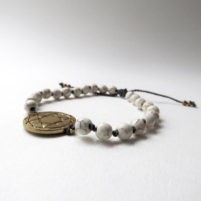 Armband Heart Chakra Mandala - RAJ 108