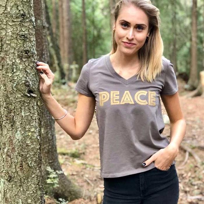 "Ekologisk Tröja ""PEACE"" från Santa Ni"
