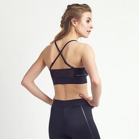 Sport-BH Yoga Hailey Black Shine - DOM