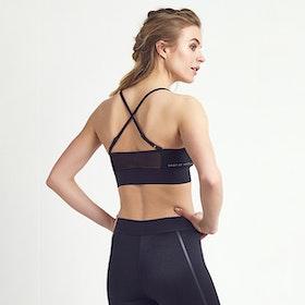 Sport-BH Yoga Hailey Black Shine - DOM