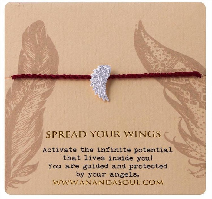 "Armband ""Spread your wings"" i Silver från Ananda Soul"