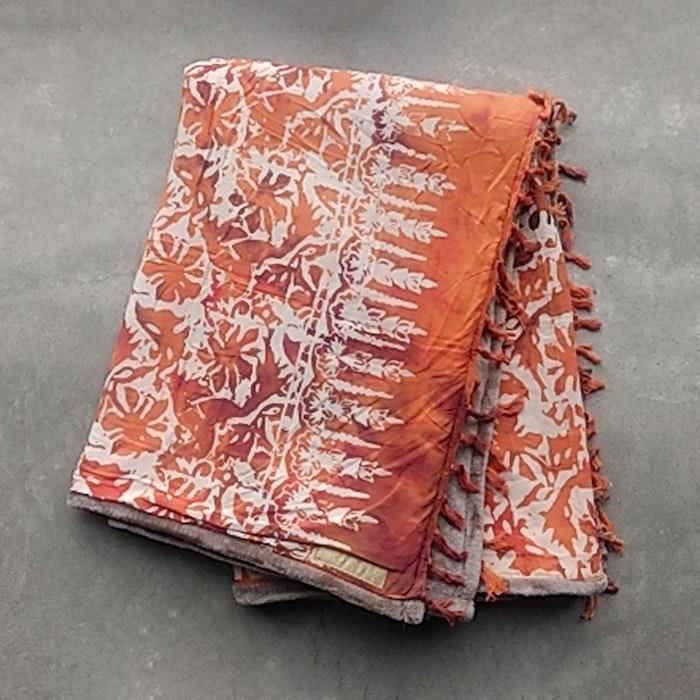Yogafilt från E-swiss - Orange/brun