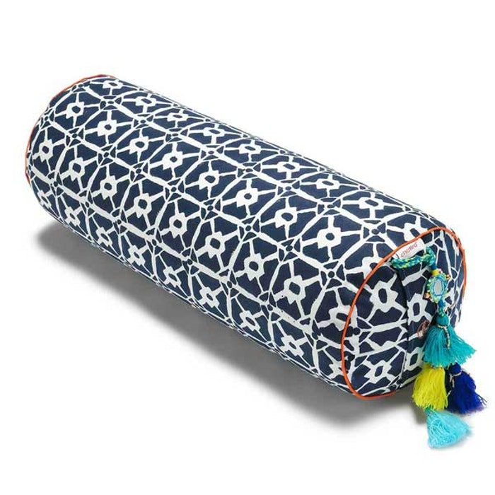 Yogabolster Rund från Chattra - Kasuti