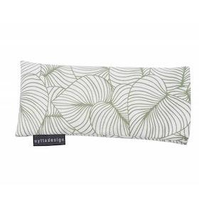 Värme/kyla ögonkudde från Nytta Design - Grönt mönster