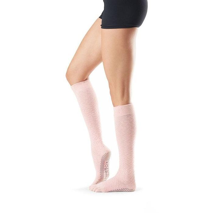 Yogastrumpor Fulltoe Scrunch Knee Chill - Toesox