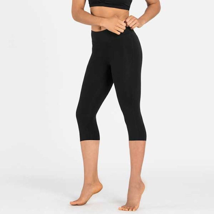 Yogaleggings Balance Crops leggings black från Dharma Bums