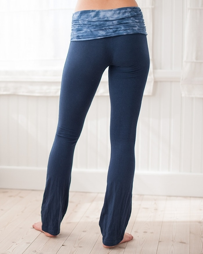 Yogaleggings Blue Full Moon pants från Paw Paw yogawear