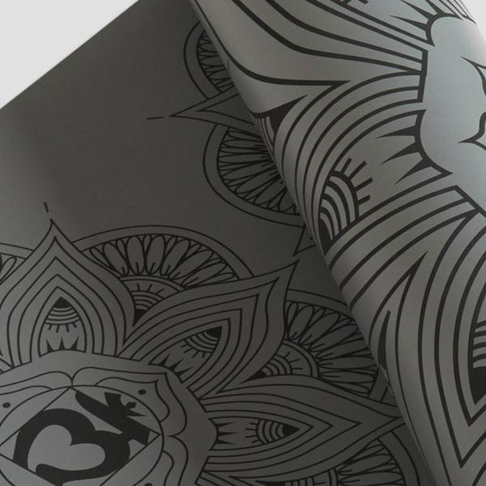 Yogamatta Rama Chakra Dark Grey från Ohmat