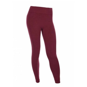 Yogaleggings Bandha bamboo Port Wine Red från Run & Relax