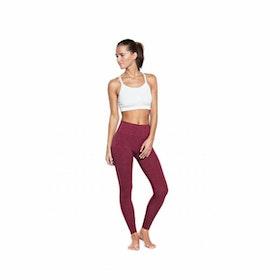 Yogaleggings Bandha Port Wine Red - Run & Relax