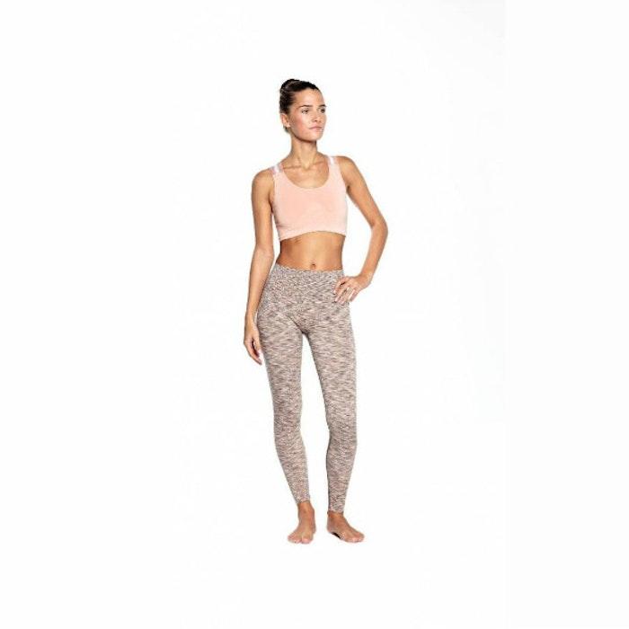 Yoga-BH Wide Elastic Light Eartly Rose - Run & Relax