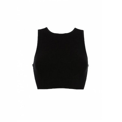 Yoga-BH Wrap Top Beautiful Black från Run & Relax