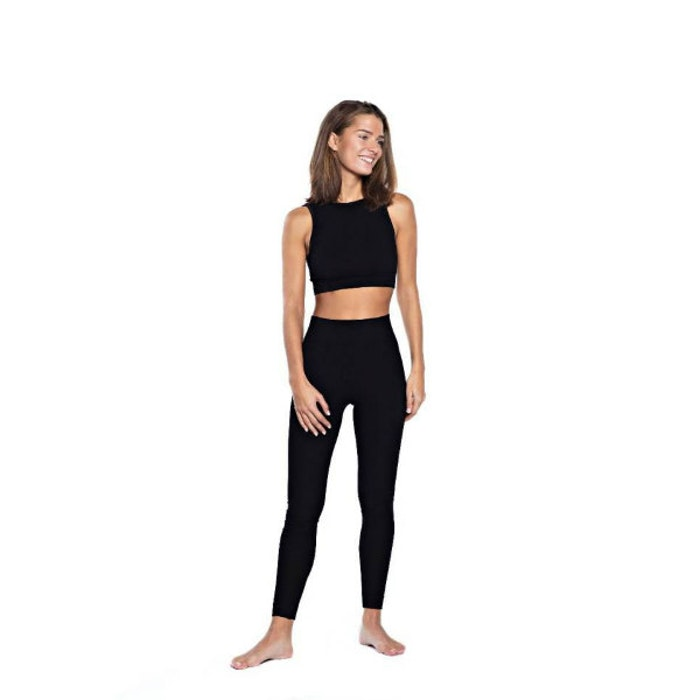 Yoga-BH Wrap Top Beautiful Black från Run & Relax