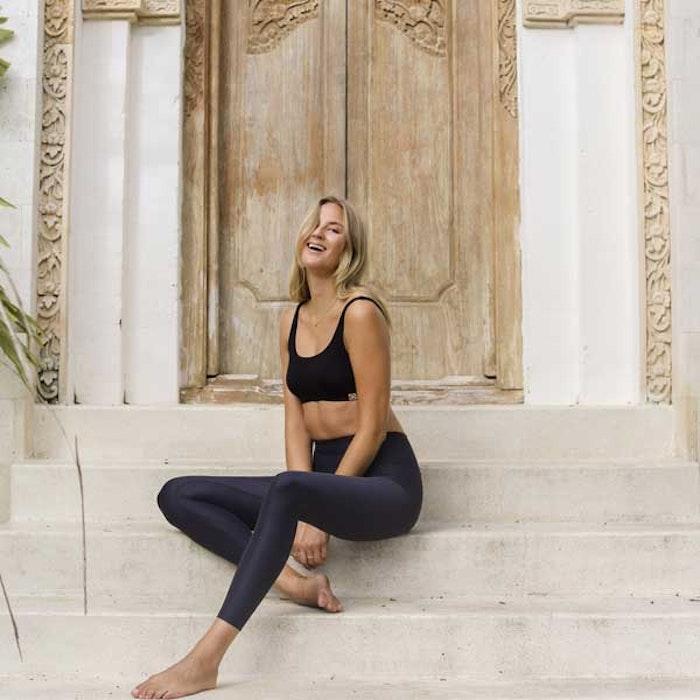 Yogaleggings Sutra Leggings Midnight från Indigo Luna