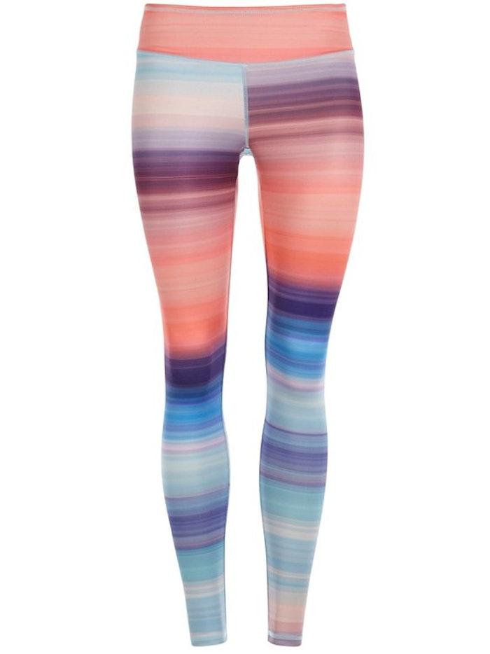 Yogaleggings Lunatic stripe från Mandala