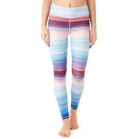 Yogaleggings Lunatic stripe från Mandala