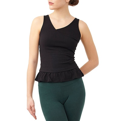 Yogalinne Fairy Top Black - Mandala