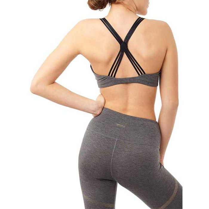 Sport-BH Yoga Unique Grey - Mandala