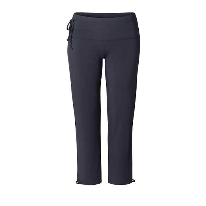 "Yogabyxor ""Straight long pants midnight blue"" Curare Yogawear - från XXL"