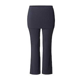 "Yogabyxor ""Long pants Skirt"" Midnight blue Curare Yogawear - från XXL"