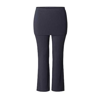 "Yogabyxor ""Long pants Skirt"" Midnight blue Curare Yogawear - från XXL"