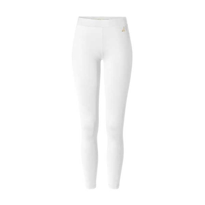 Yogaleggings white/gold - Curare Yogawear