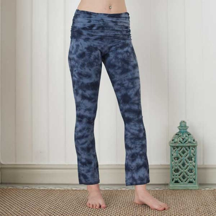 Yogaleggings New dark Blue Half Moon pants från Paw Paw yogawear