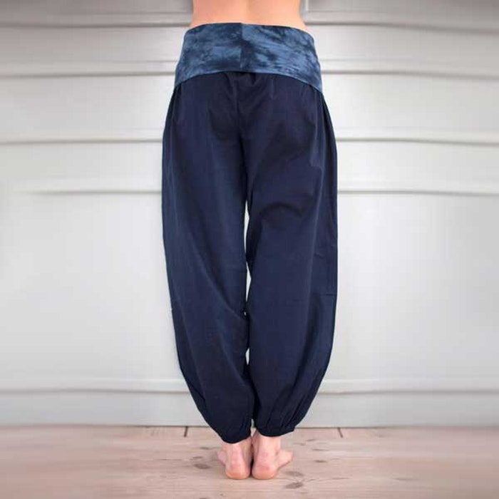 Yogabyxor New dark blue Bubble pants - Paw Paw yogawear