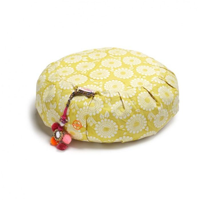 "Meditationskudde Chattra Zafu ""Citron Marigold"" - Chattra"