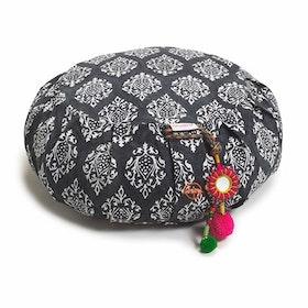 Meditationskudde Chattra Zafu Charcoal Darpan - Chattra
