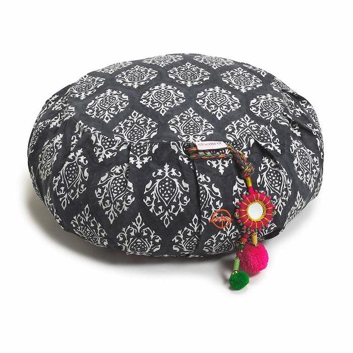 "Meditationskudde Chattra Zafu ""Charcoal Darpan"" - Chattra"