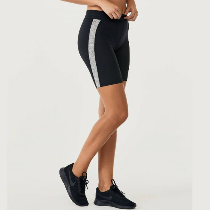Yogashorts Bettsy Black/Grey - DOM