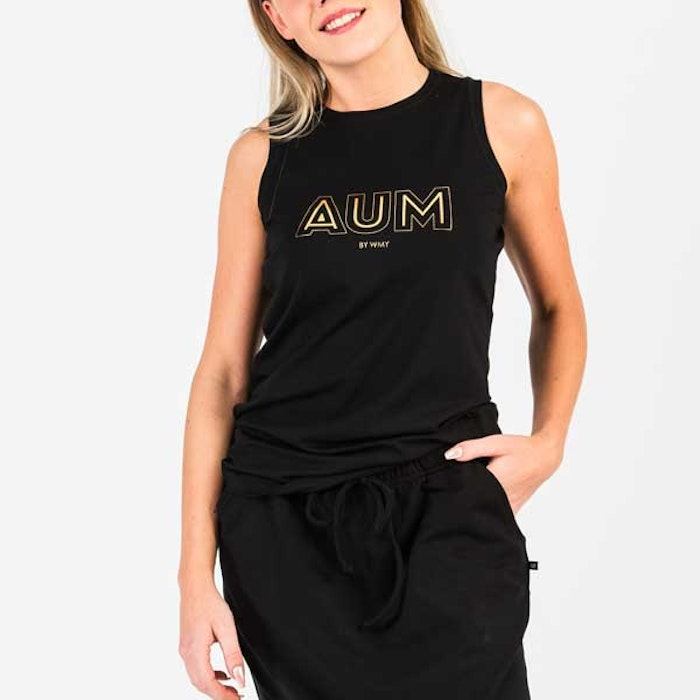 Linne AUM Black - Wear my yoga