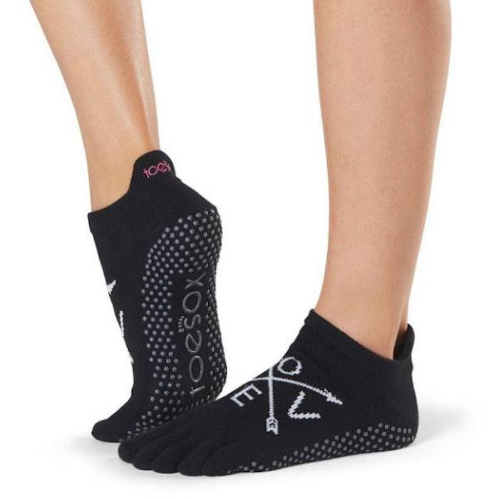 Yogastrumpor Toesox Fulltoe Lowrise grip - Fate