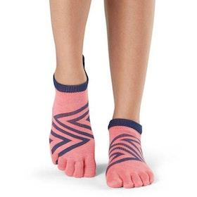 Yogastrumpor Toesox Fulltoe Lowrise Grip - Fame