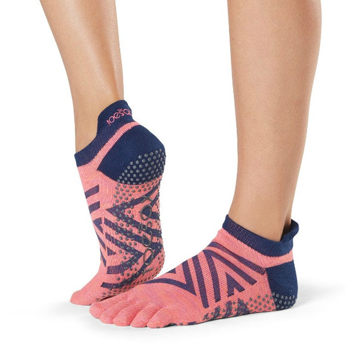 Yogastrumpor Fulltoe Low Rise Grip Fame - Toesox