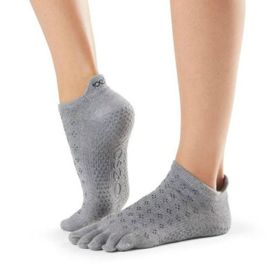 Yogastrumpor Fulltoe Low Rise Grip Brilliant - ToeSox