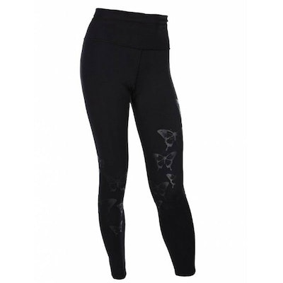 Tights Butterfly från Run & Relax - Black